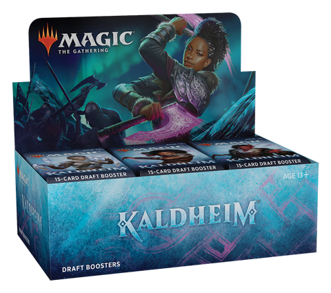 Magic The Gathering: Kaldheim - Draft Booster Box