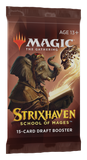 Magic The Gathering: Strixhaven: School of Mages - Draft Booster Pack (15 Cards)