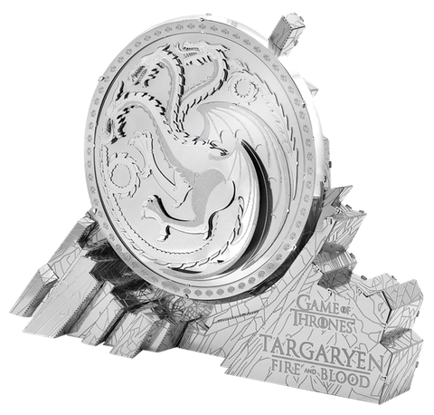 Metal Earth Game of Thrones Targaryen Sigil