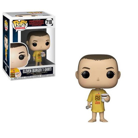 Funko Pop! Stranger Things Eleven in Burger T-Shirt