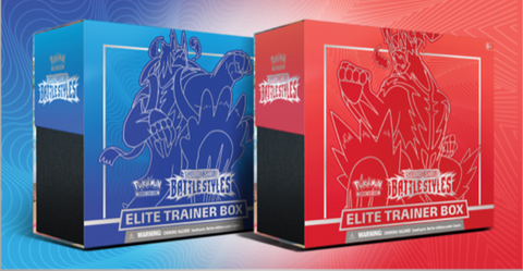 Pokemon Sword & Shield - Battle Styles Elite Trainer Box