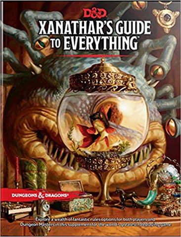 Dungeons & Dragons: Xanathar's Guide to Everything