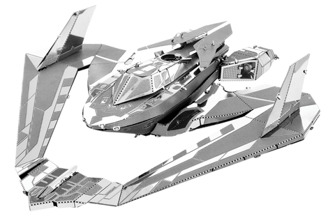 Metal Earth Batman v Superman Batwing