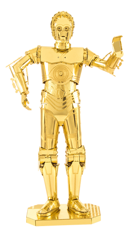Metal Earth Star Wars Gold C-3PO