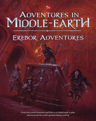 Dungeons and Dragons RPG: Adventures in Middle-Earth - Erebor Adventures Hardcover