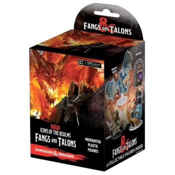 Dungeons & Dragons Fantasy Miniatures: Icons of the Realms: Fangs & Talons