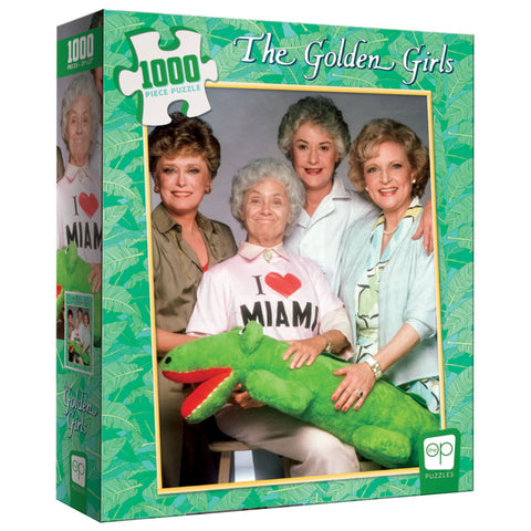 "The Golden Girls ""I Heart Miami"" 1000 Piece Puzzle"