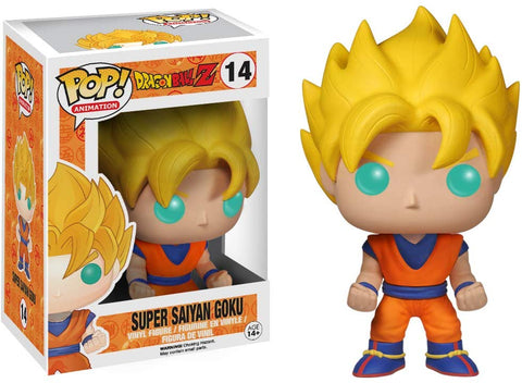 Funko Pop! Dragon Ball Z Super Saiyan Goku