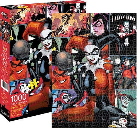 Harley Quinn 1,000 Piece Puzzle