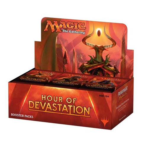 Magic The Gathering: Hour of Devastation - Booster Pack (15 Cards)