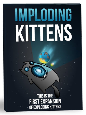 Exploding Kittens: Imploding Kittens Expansion Pack