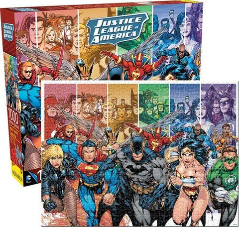 DC Comics Justice League of America 1,000 Piece Puzzle