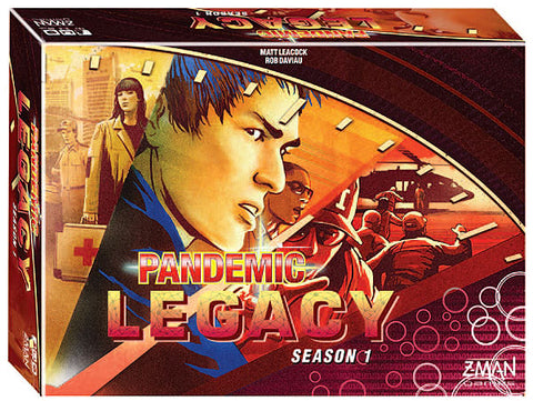 Pandemic Legacy Season 1 - Red (Stand Alone)