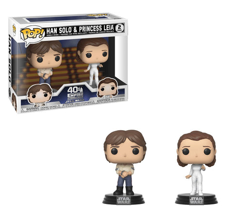 Funko Pop! Star Wars Luke & Leia (2-Pack)