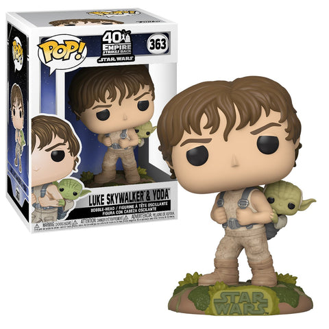 Funko Pop! Star Wars Luke Training with Yoda