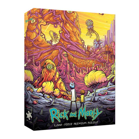 "Rick and Morty ""Into the Rickverse"" 1000 Piece Puzzle"