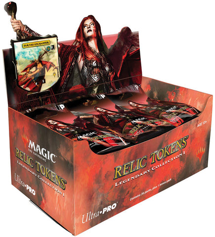 Magic The Gathering: Relic Tokens Pack - Legendary Collection