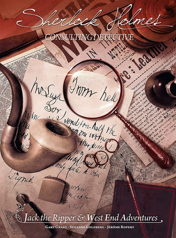Sherlock Holmes: Consulting Detective - Jack the Ripper & West End Adventures (stand alone)