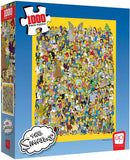 "The Simpsons ""Cast of Thousands"" 1000 Piece Puzzle"