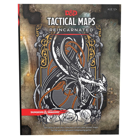 Dungeons & Dragons 5th Edition Tactical Maps Reincarnated