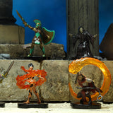 Dungeons & Dragons Fantasy Miniatures: Icons of the Realms: Mythic Odysseys of Theros