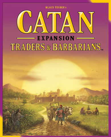 Catan: Traders and Barbarians Game Expansion