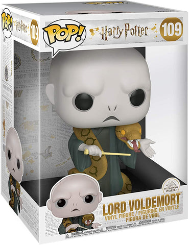 Funko Pop! Harry Potter Voldemort with Nagini 10-Inch