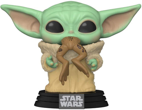 Funko Pop! Star Wars Mandalorian The Child Baby Yoda with Frog
