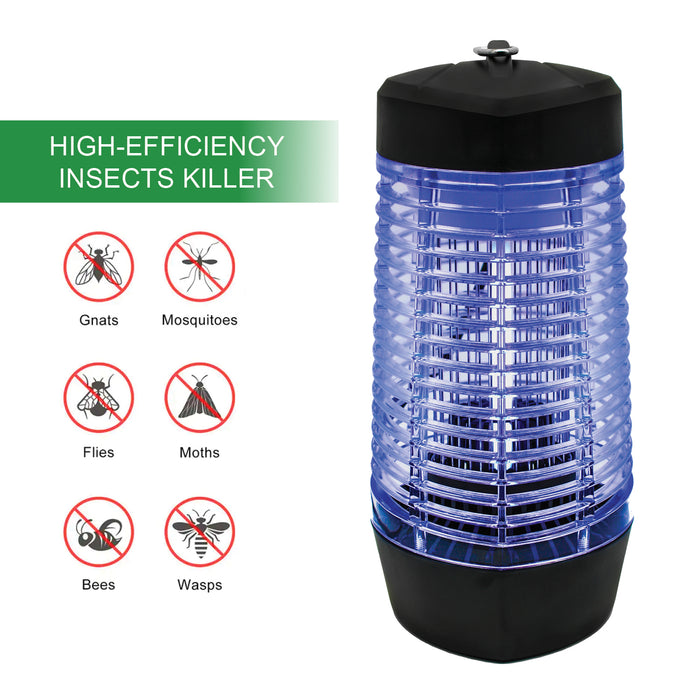 Bug Zapper for Outdoor and Indoor, Electronic Fly Insect Trap for Home, Garden, Backyard