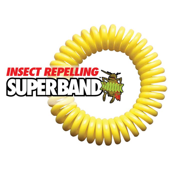 The Original Superband All-Natural Mosquito Repellent Bracelet - Evergreen Products & Research