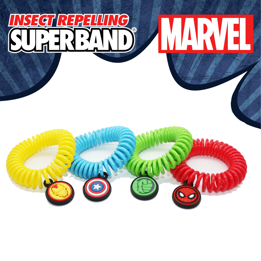 Insect Repelling Superband | MARVEL | Evergreen Products !#!amp!*! Research