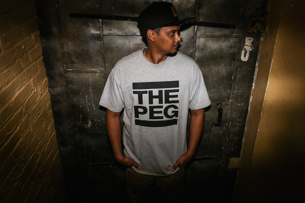The Peg Authentic Brand Grey Tee Shirt