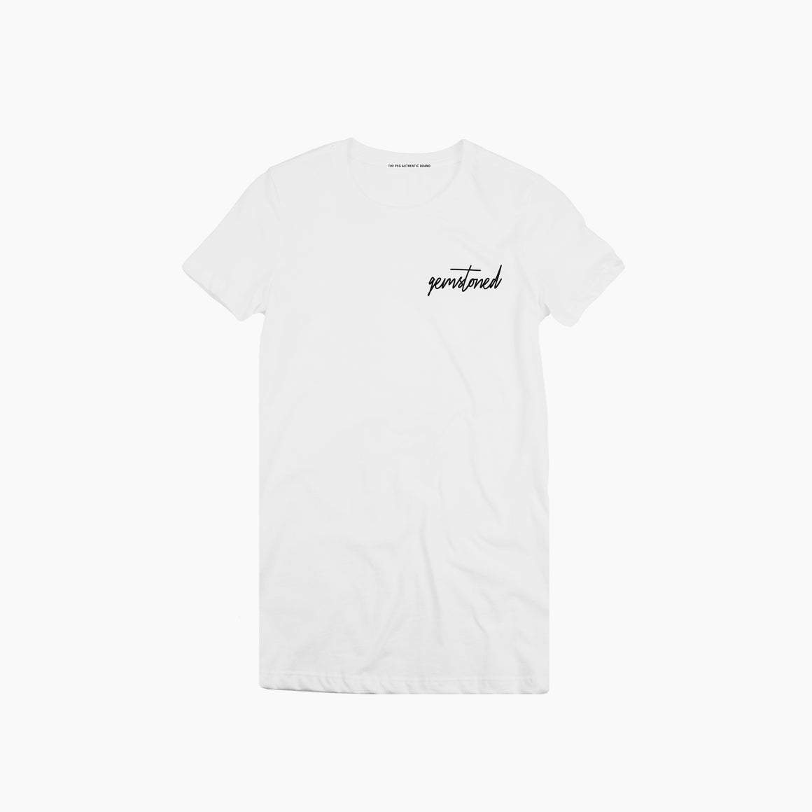 Gemstoned Classic Women's Tee Shirt (White)