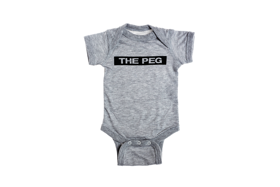 Premium Baby Onesie (Heather Grey)