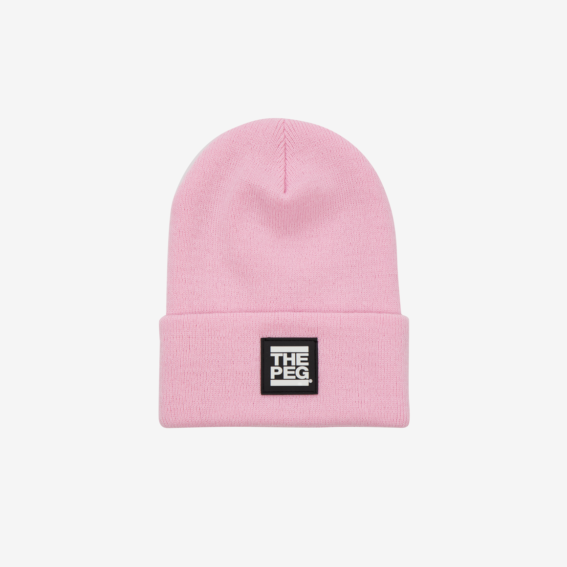 Classic Cuffed Toque (Bubble Gum Pink)
