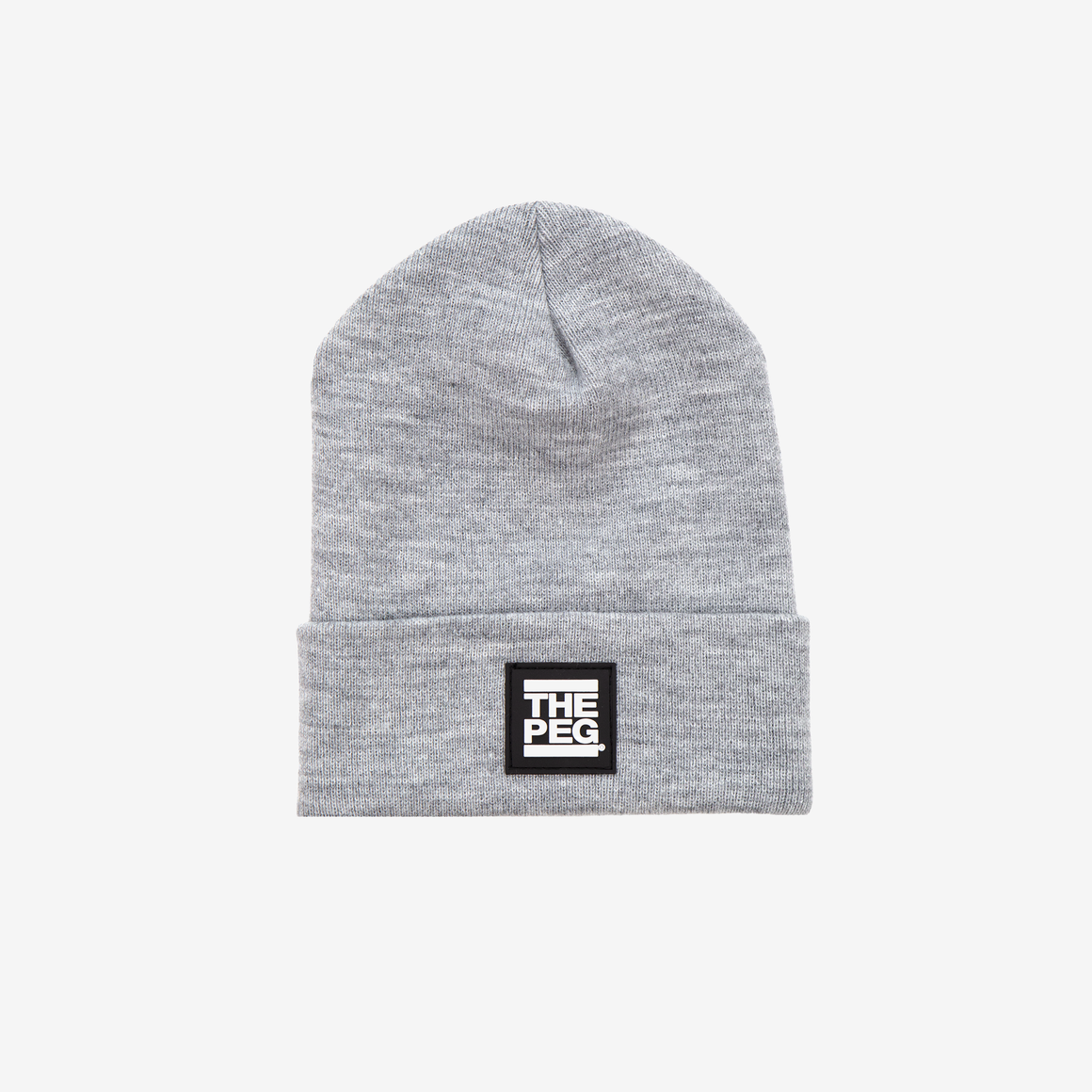 Classic Cuffed Toque (Heather Grey)