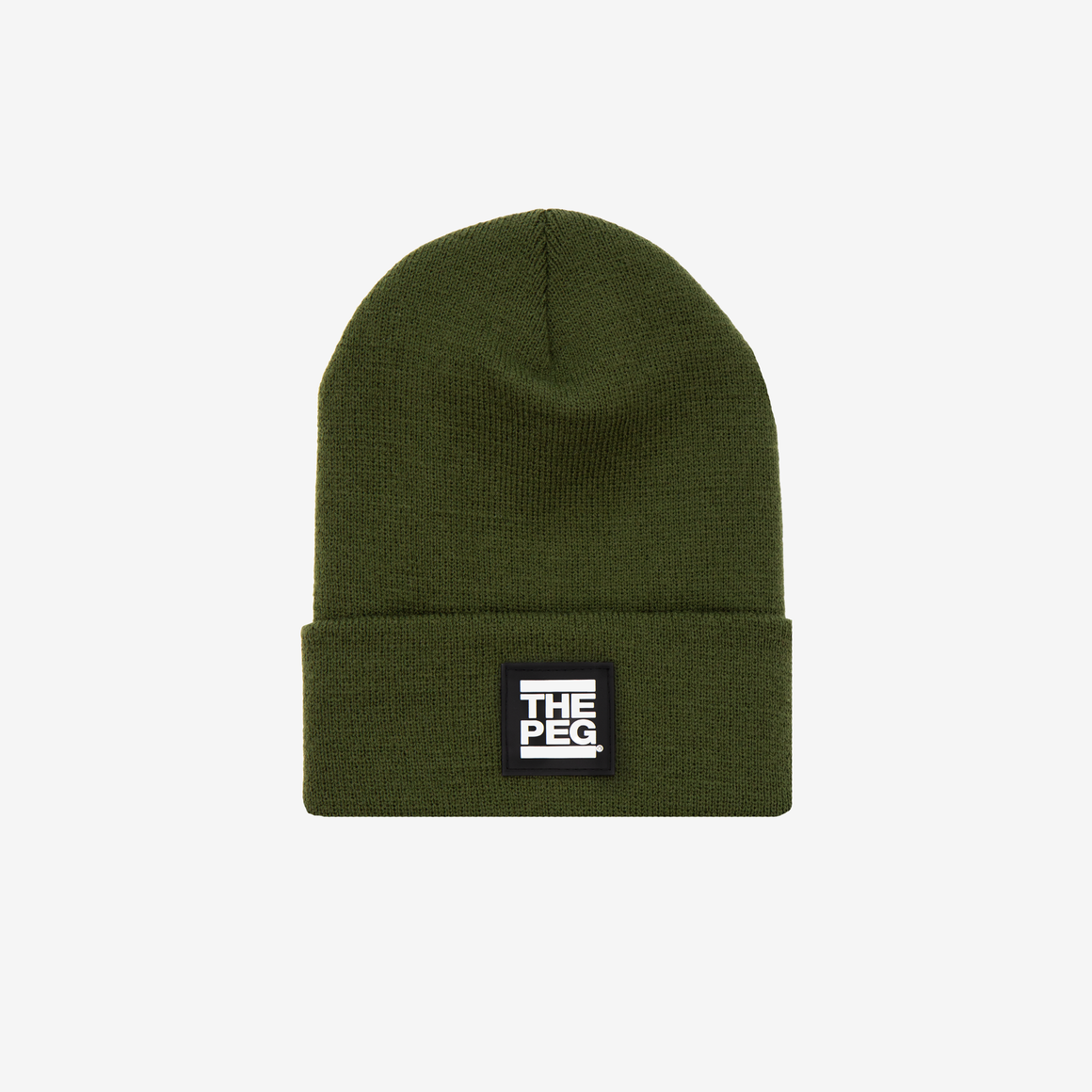 Classic Cuffed Toque (Olive Green)