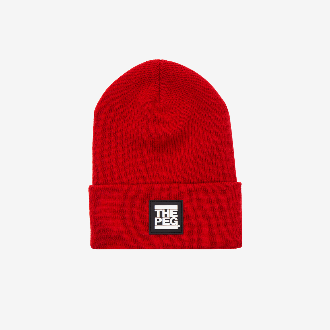 Classic Cuffed Toque (True Red)