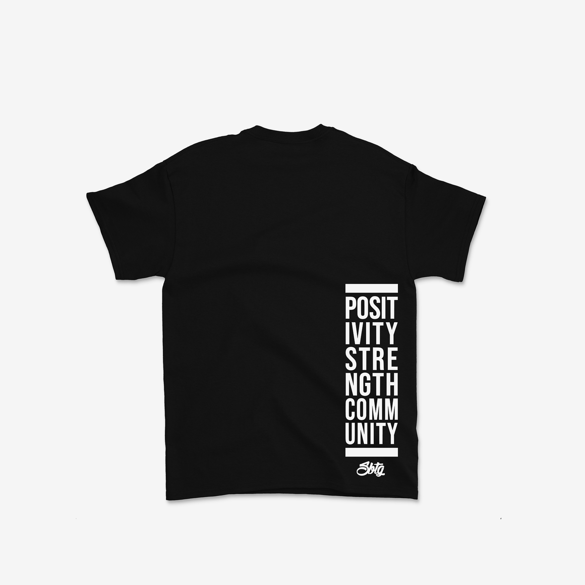 The Peg Authentic x SBTG Community Tee Shirt (Black)