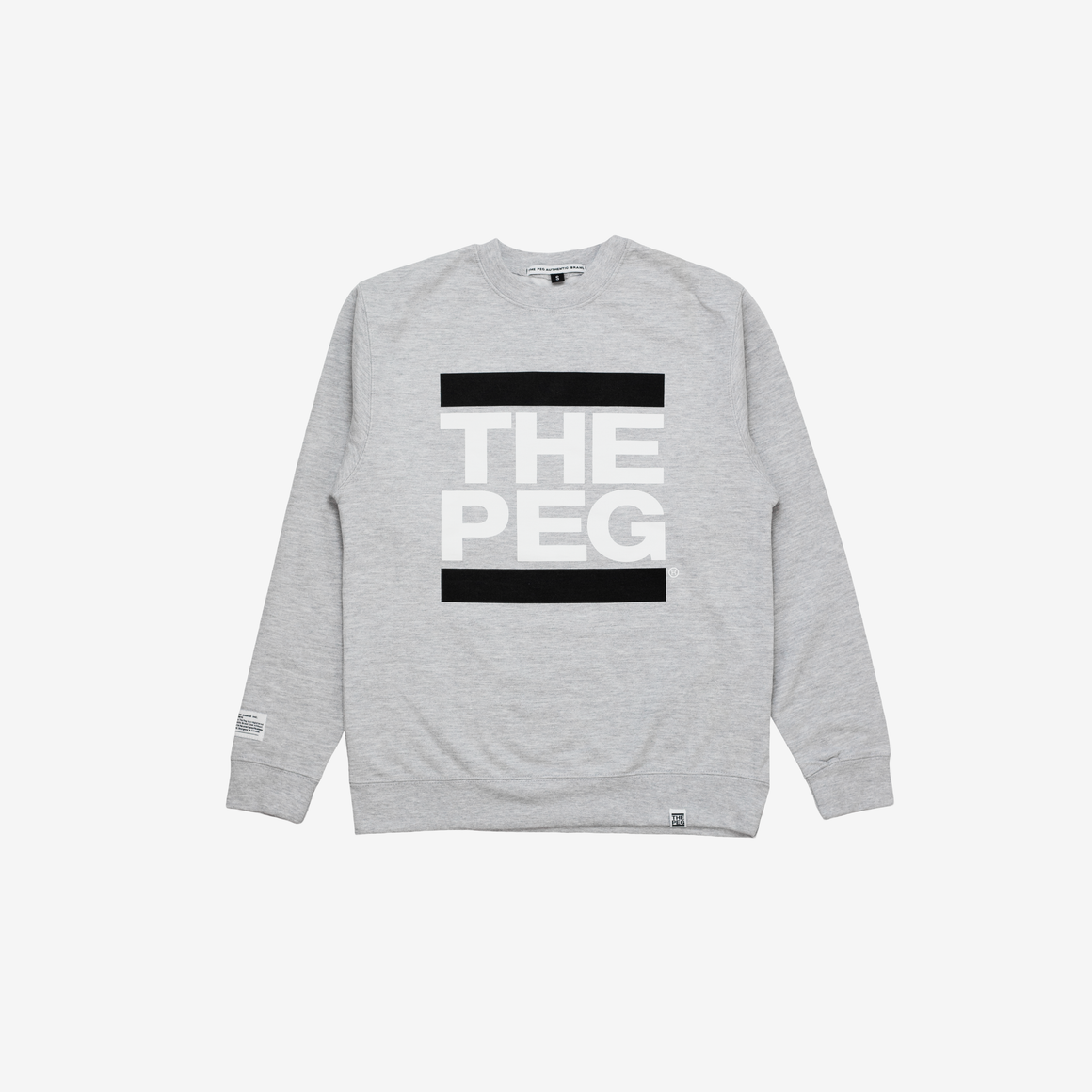 Mid Weight Premium Crew (Heather Grey)