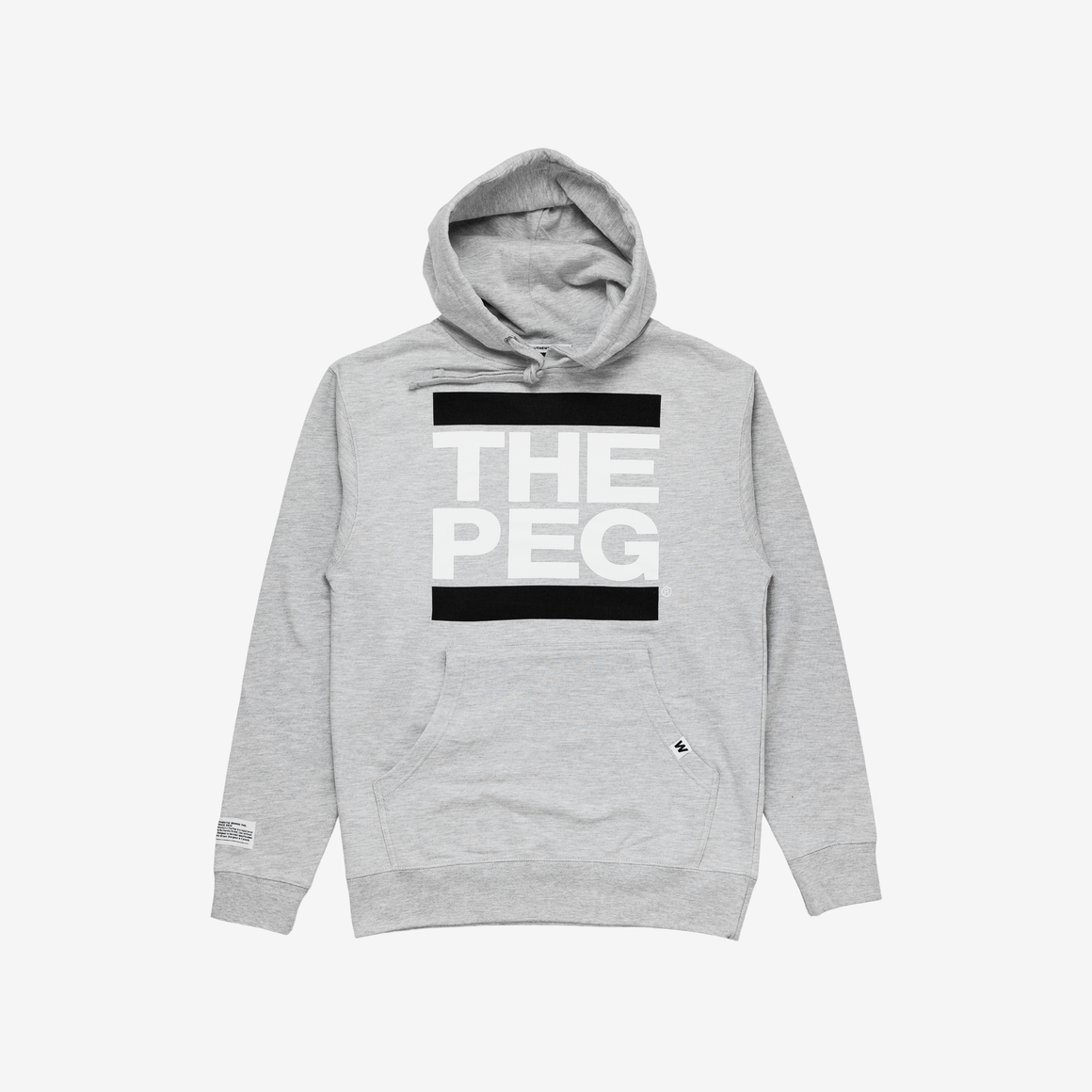 Mid Weight Premium Hoodie (Heather Grey)