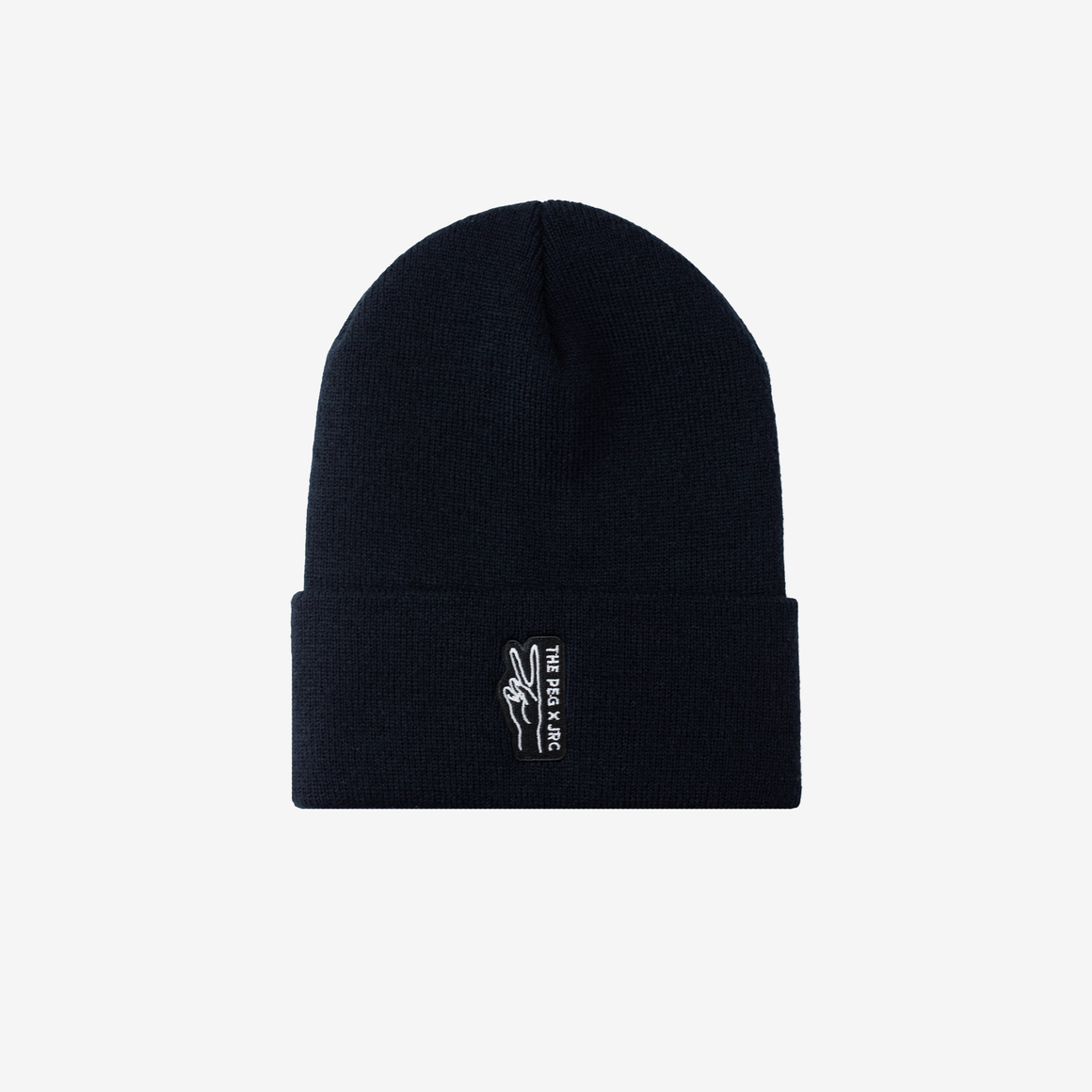 The Peg Authentic x Jenna Rae Cakes Classic Cuffed Toque (Black)
