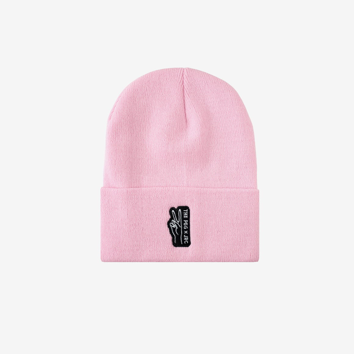 The Peg Authentic x Jenna Rae Cakes Classic Cuffed Toque (Pink)