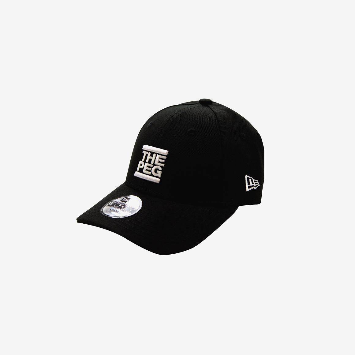 New Era 9FORTY Youth Adjustable Cap (Black)