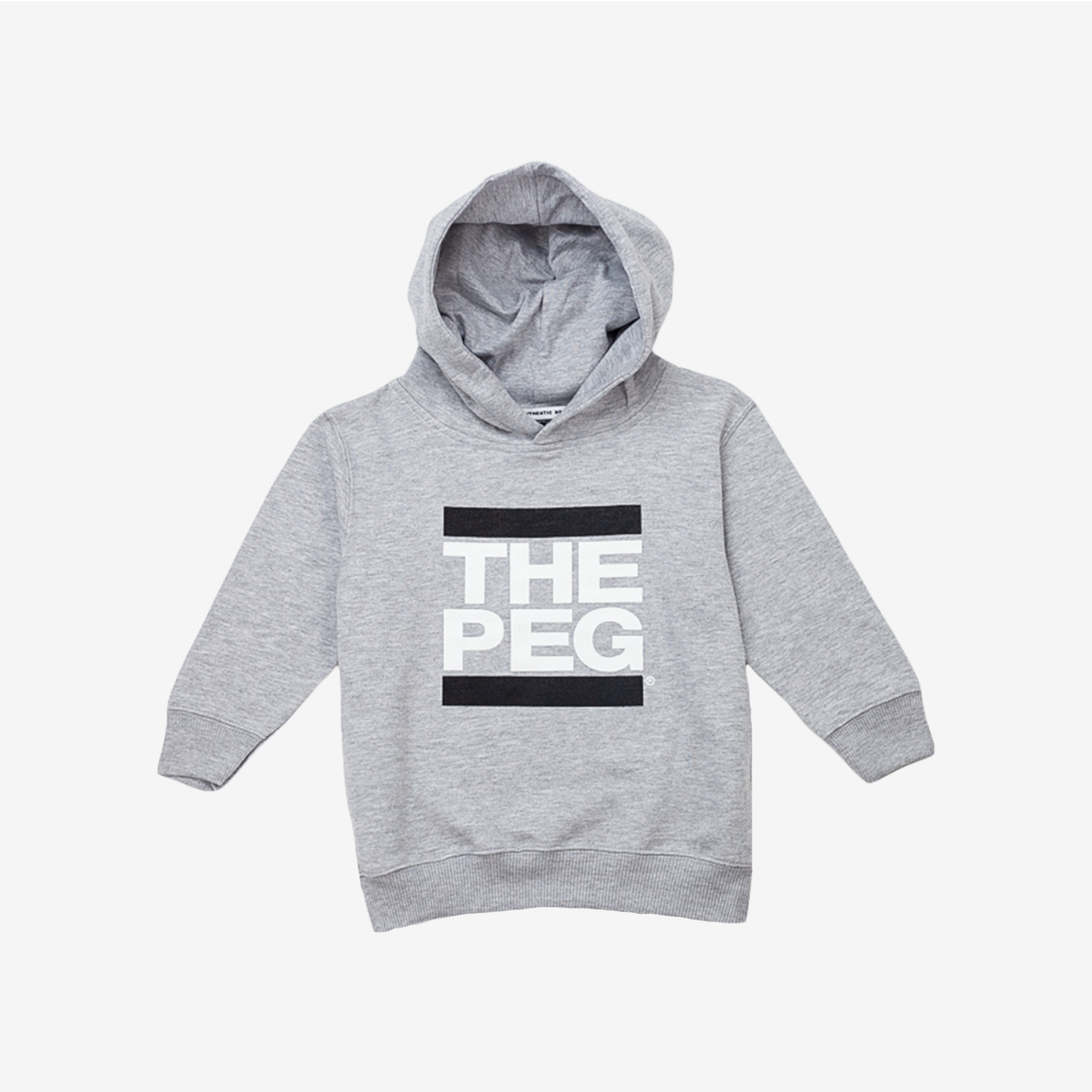 Classic Toddler Hoodie (Heather Grey)