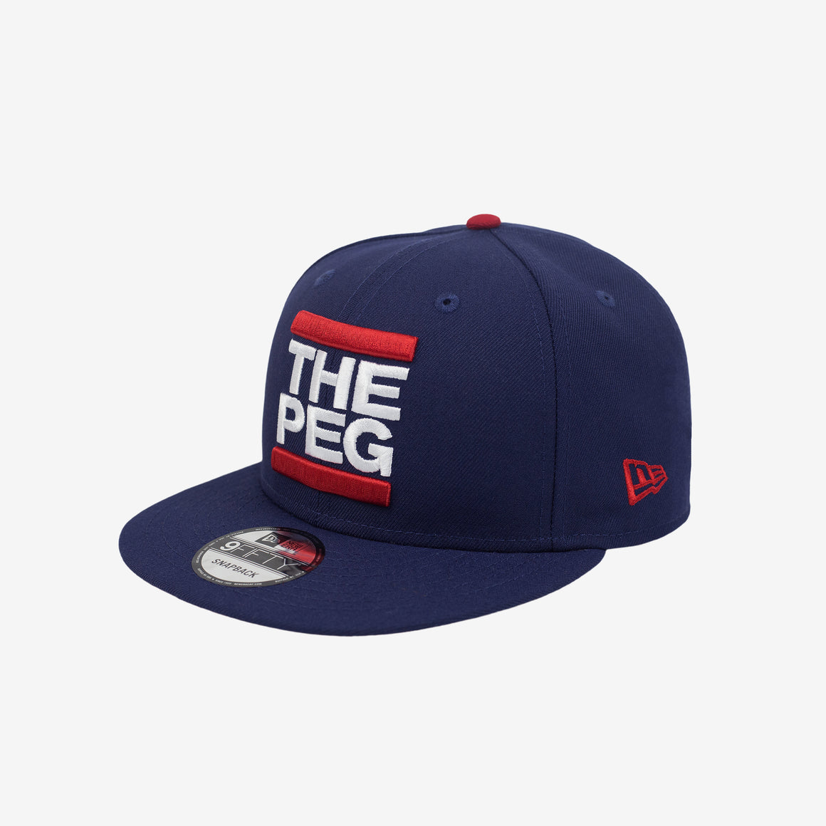 New Era 9FIFTY Classic Snapback (Navy, Scarlet)