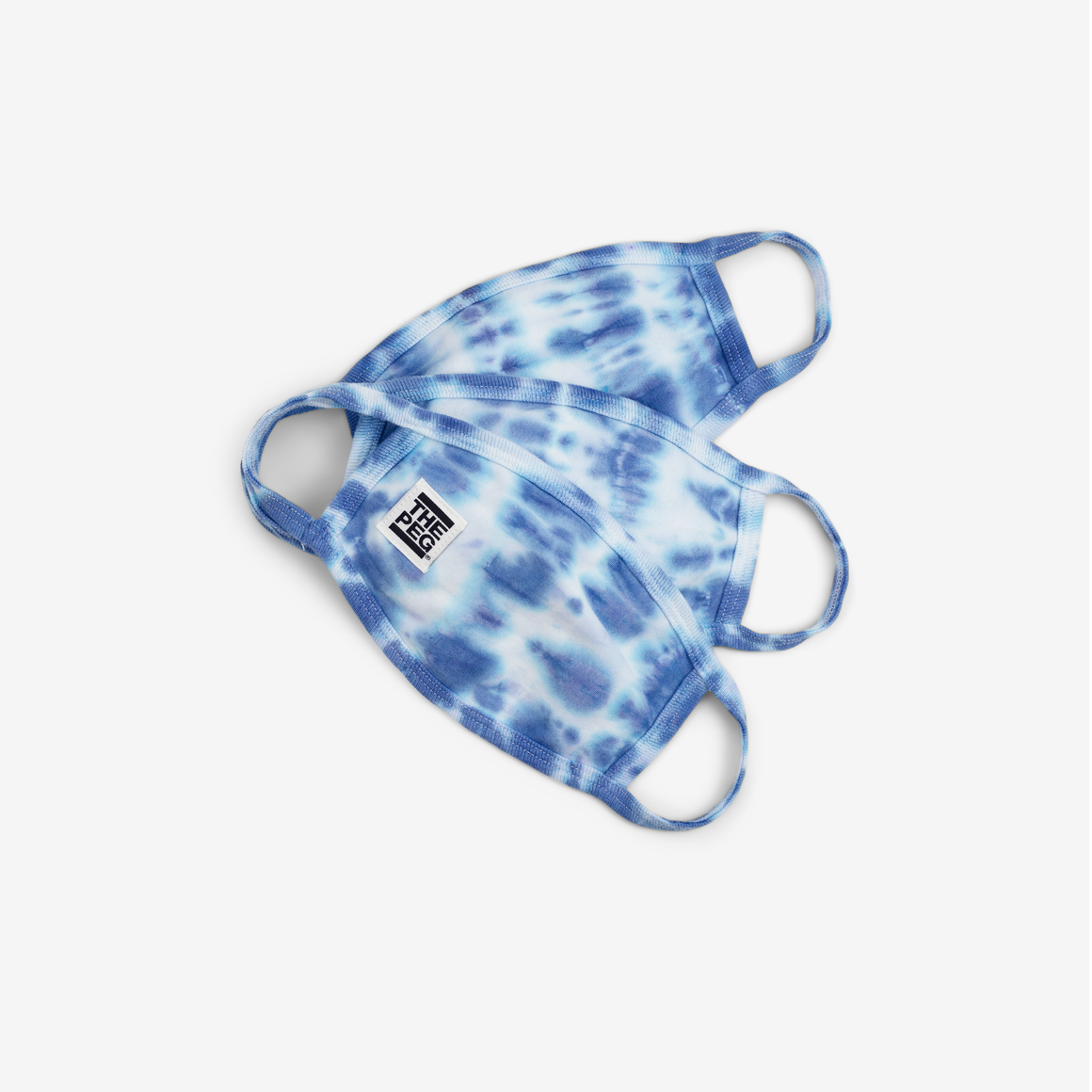 Reusable Face Mask (Indigo Tie Dye)