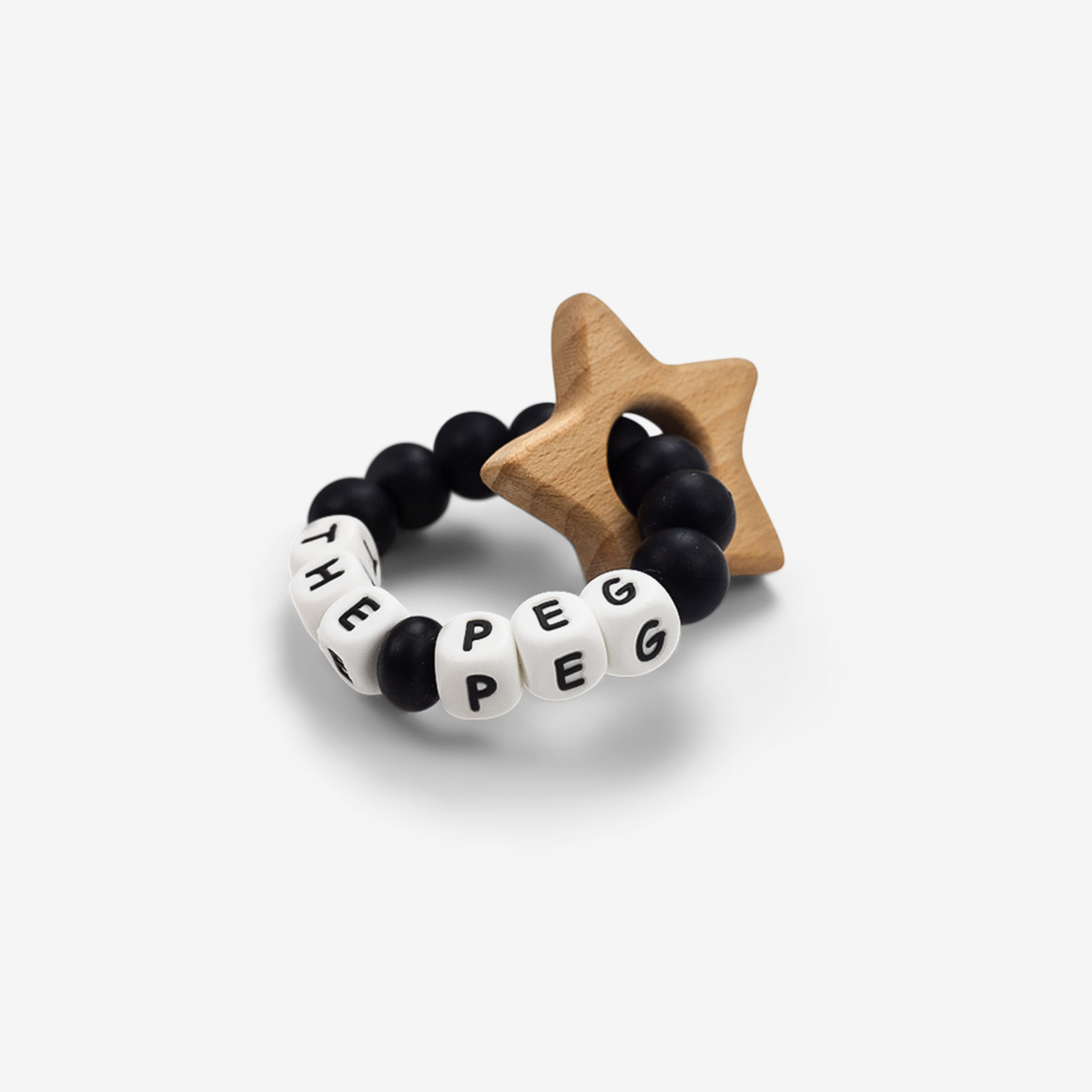 The Peg Authentic x Tiny Inspirations Teething Ring
