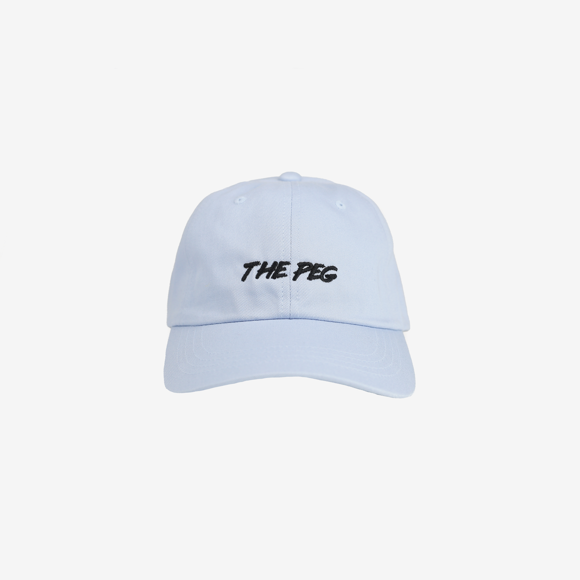 Paintbrush Dad Cap (Periwinkle/Black)