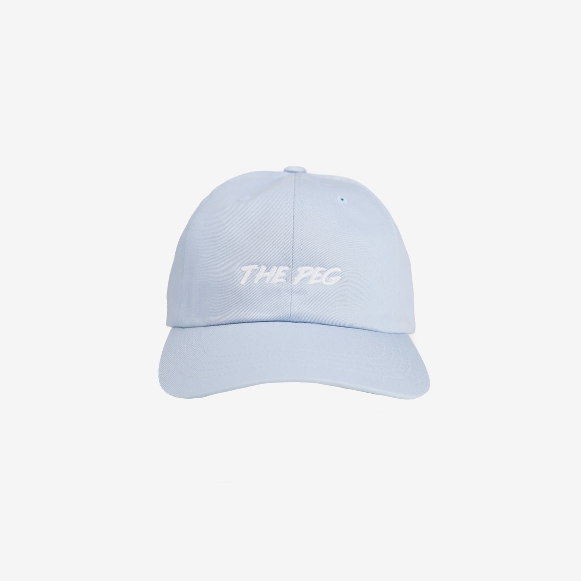 Paintbrush Dad Cap (Periwinkle/White)